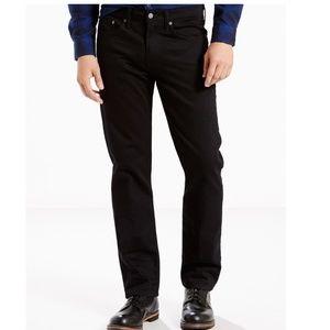 Levi's 514 Black Straight Leg Jeans 32 Waist